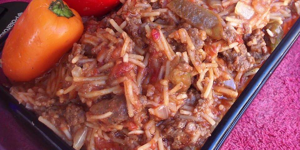 spicy american spanish rice recipe
