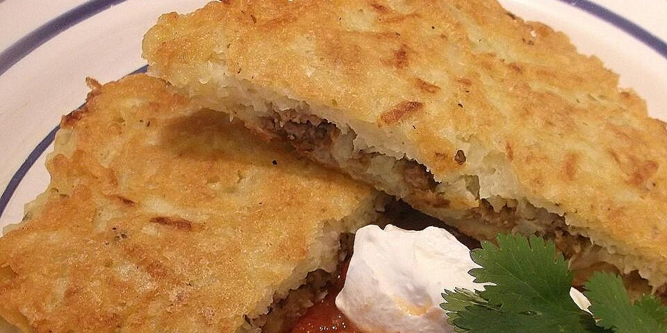delicious stuffed potato pancakes recipe
