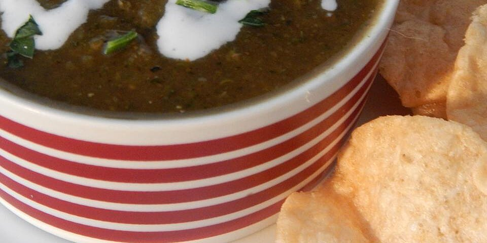 zucchini soup with curry spices recipe