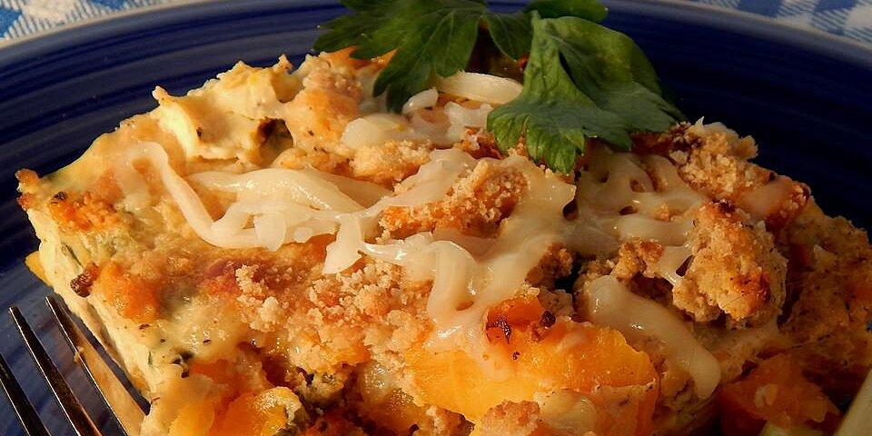 kristins turkey butternut squash casserole recipe