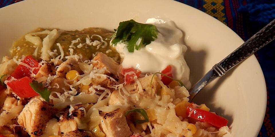 baja style chicken bowl recipe