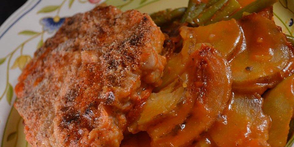 saucy chops i recipe
