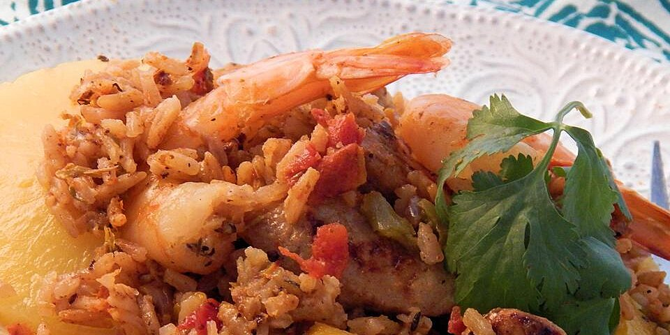 jambalaya with fresh fruit recipe