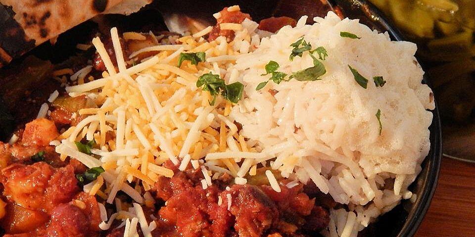 slow cooker cactus chili recipe