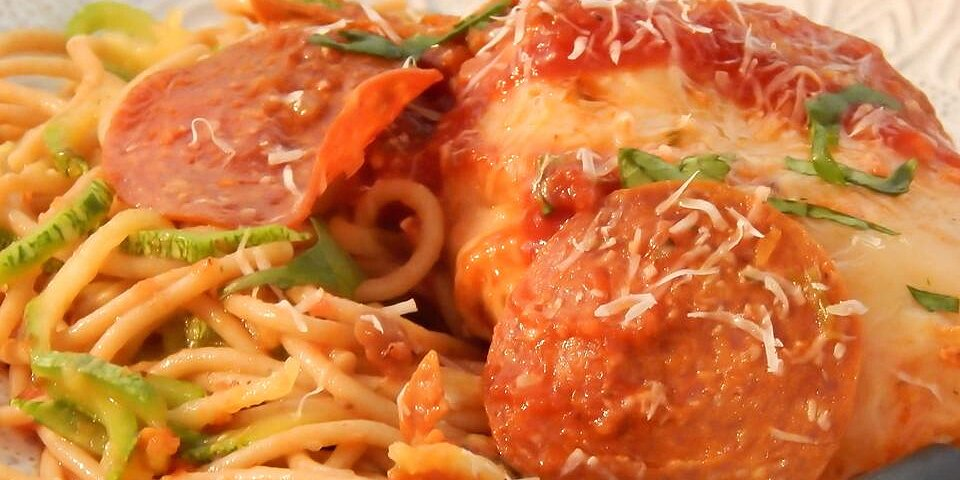 slow cooker chicken pepperoni recipe