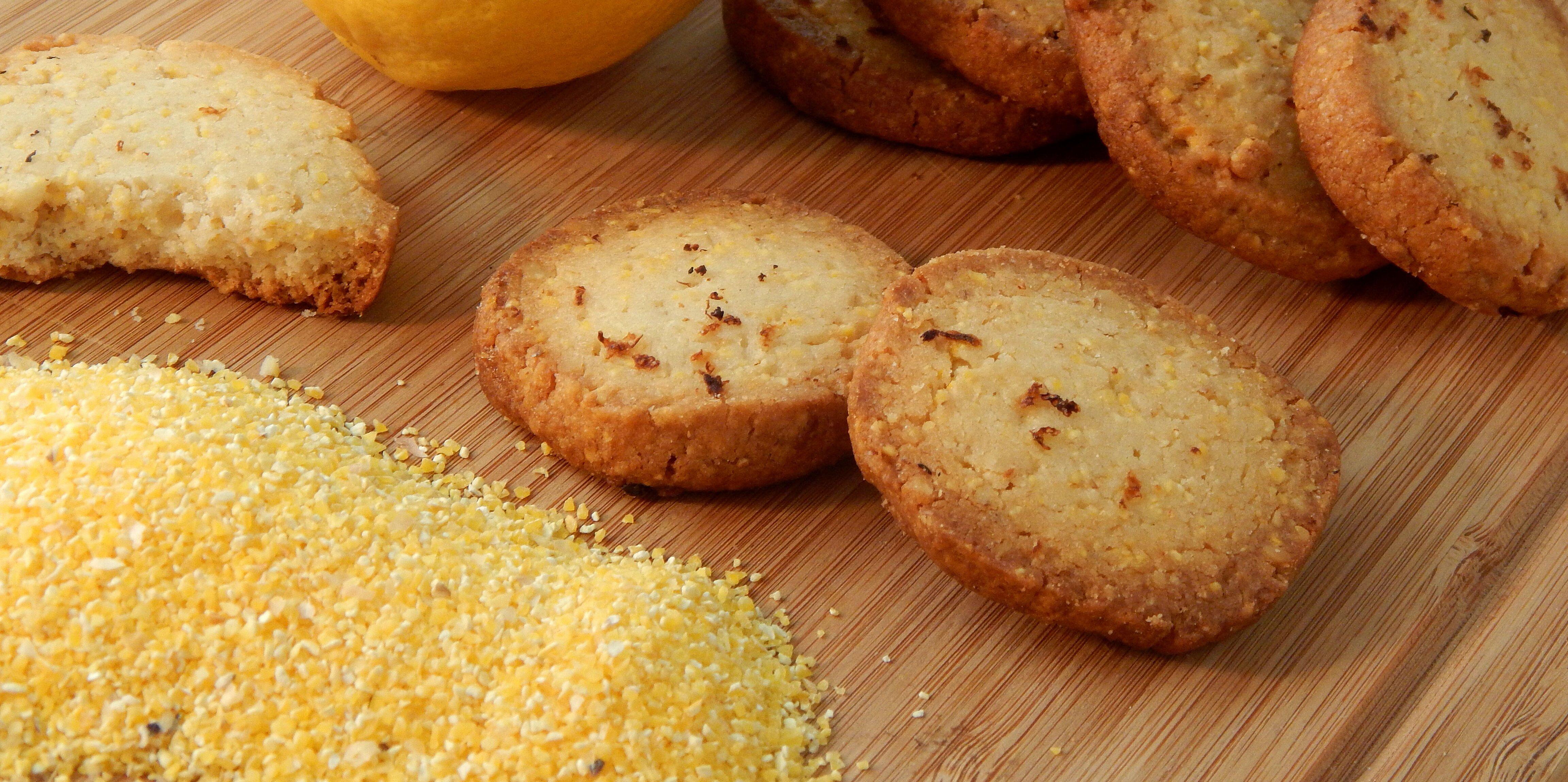 lemon polenta biscuits recipe