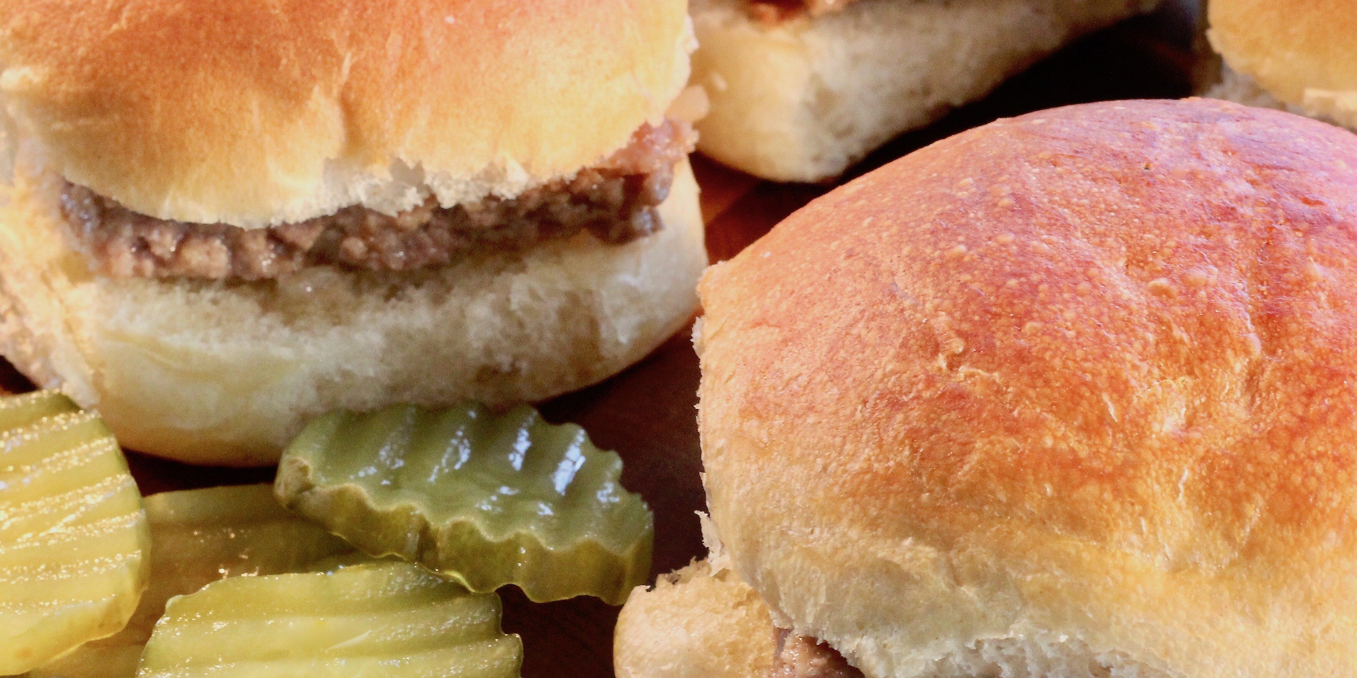 almost white castle hamburgers recipe