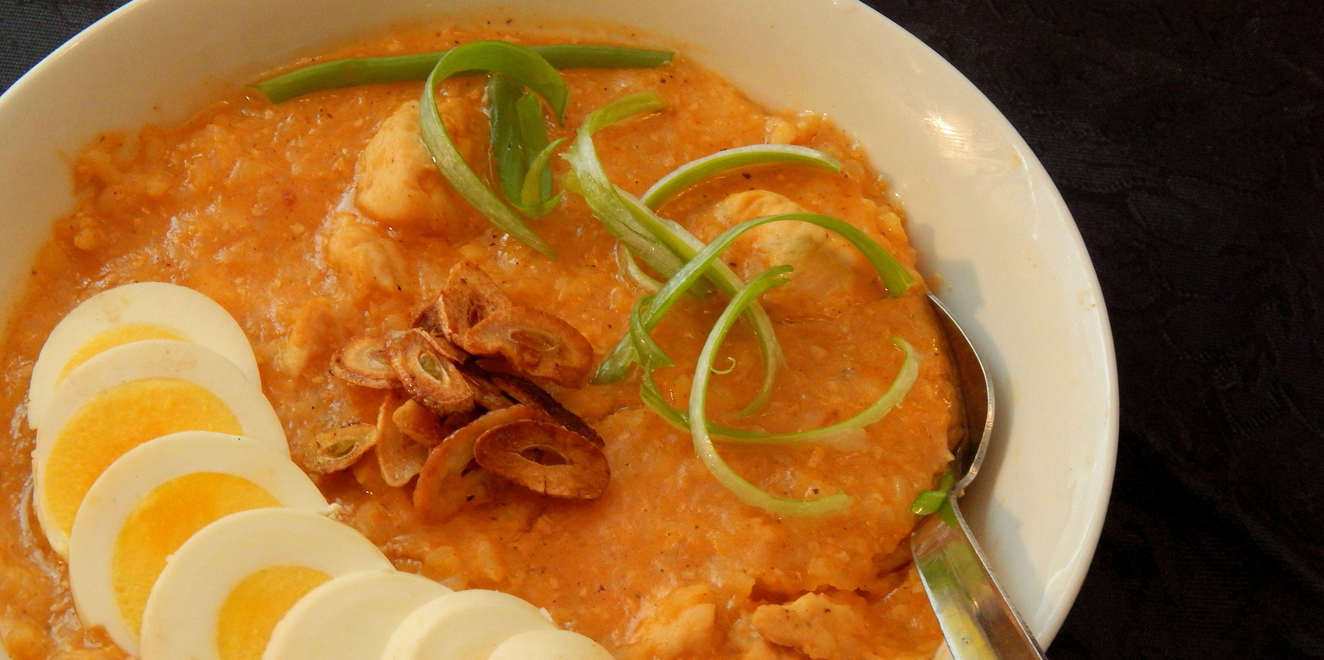 filipino style congee lugaw recipe