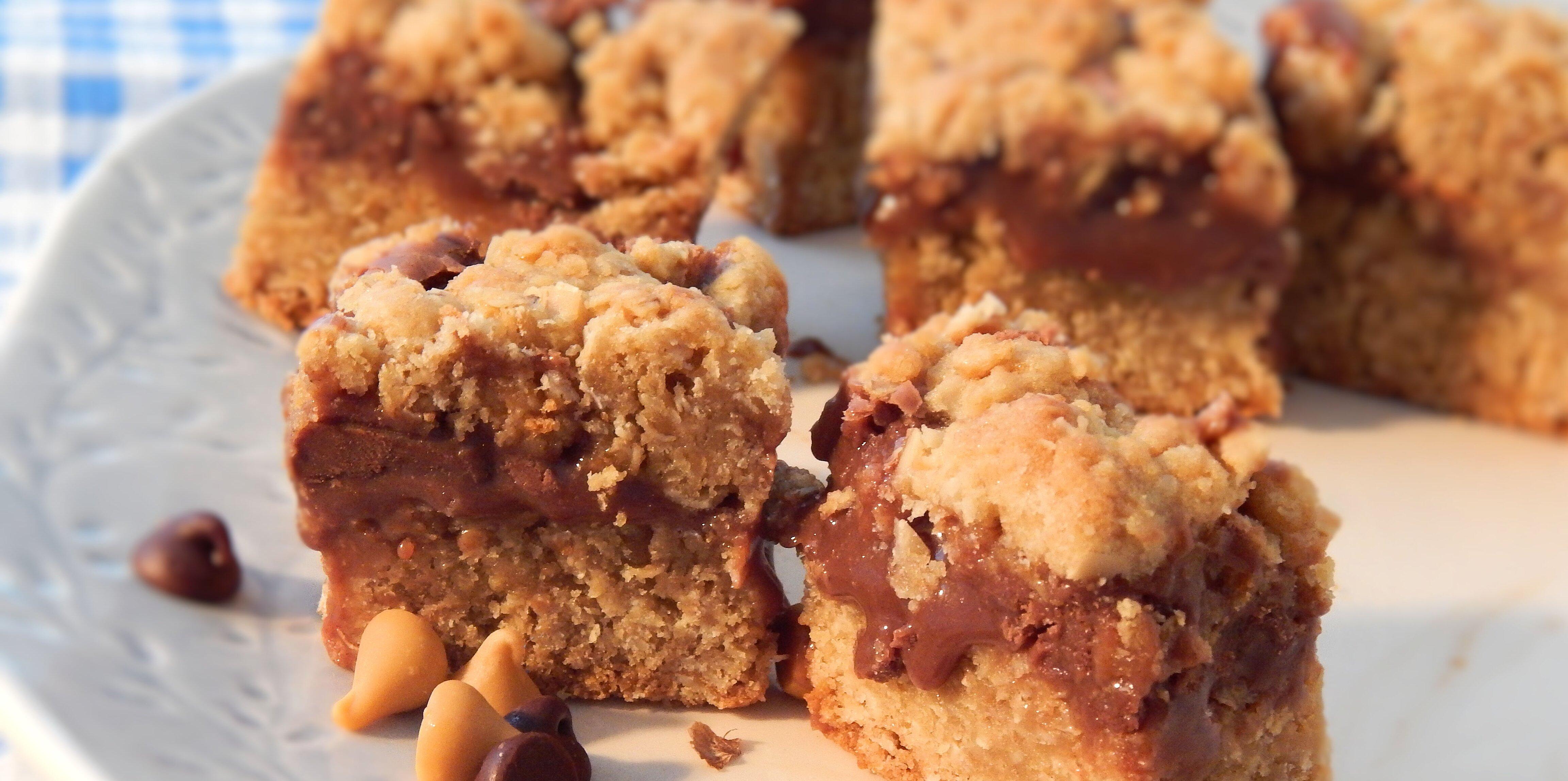 fudge jumbles chocolate cookie bars recipe