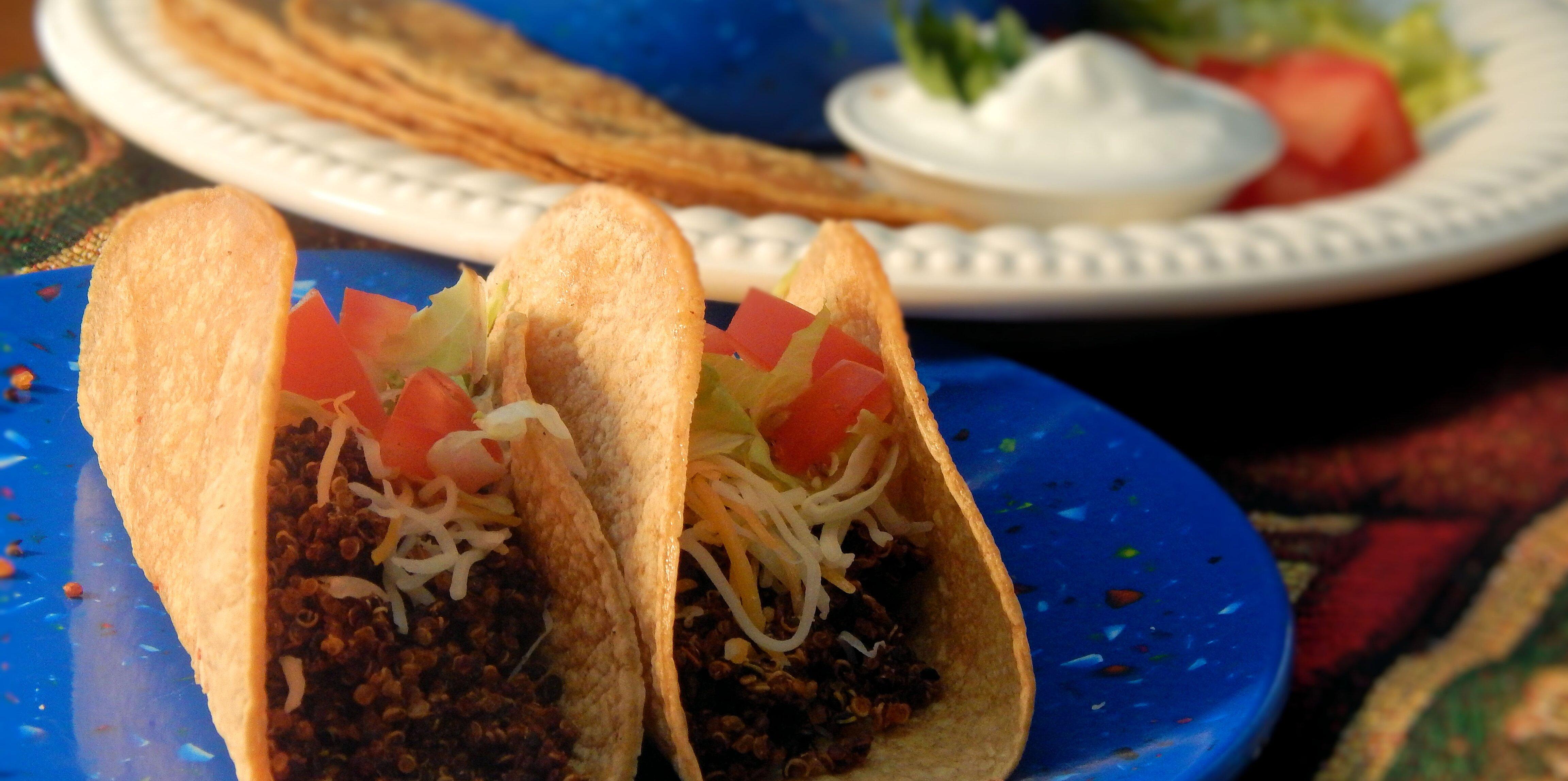 instant pot quinoa taco meat substitute recipe