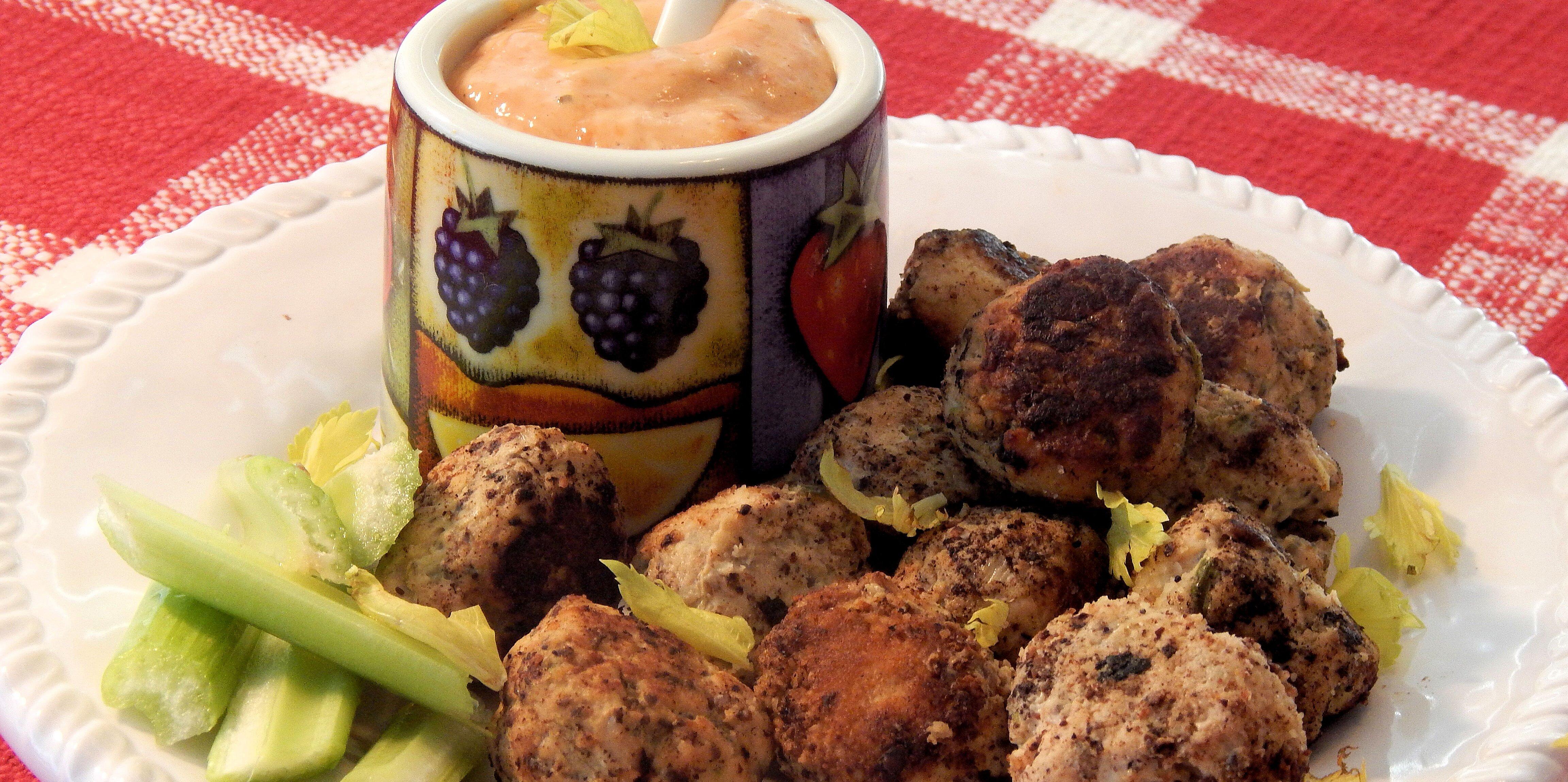 ground chicken patties or meatballs recipe