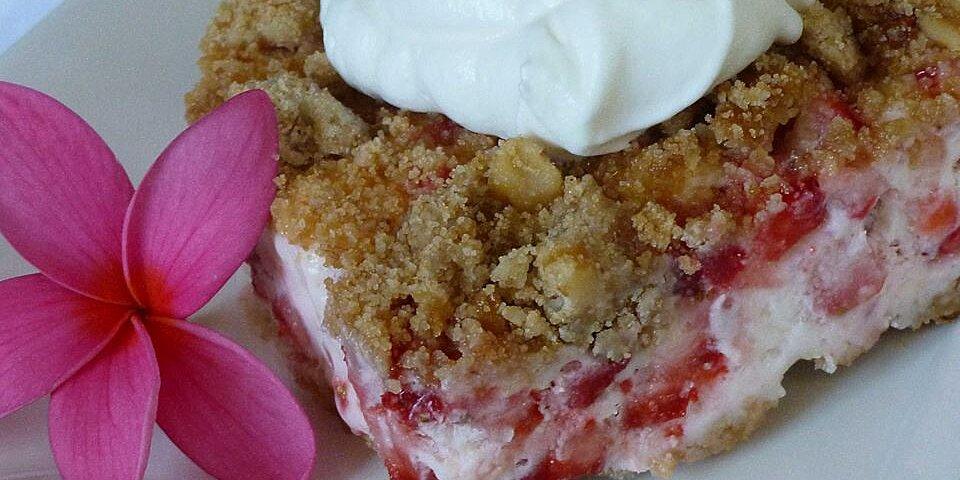 frosty strawberry dessert recipe