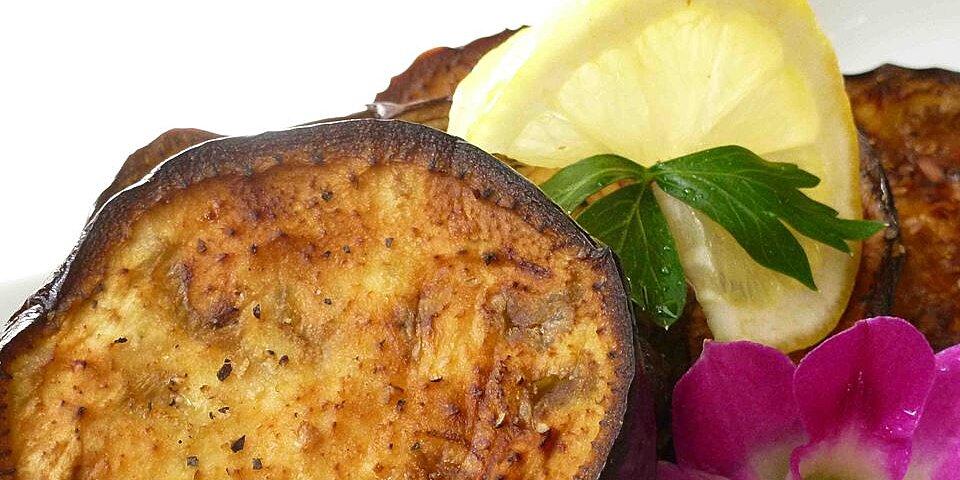 olive oil roasted eggplant with lemon recipe