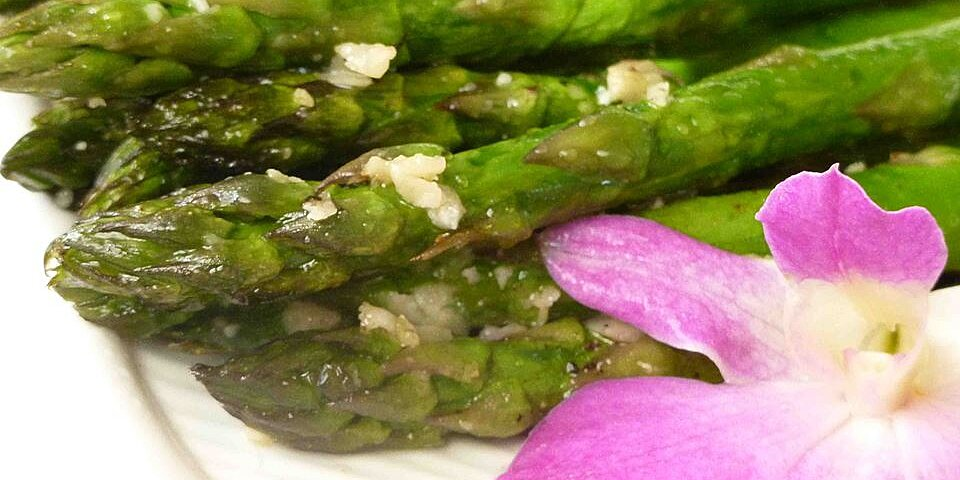 asparagus with parmesan crust recipe