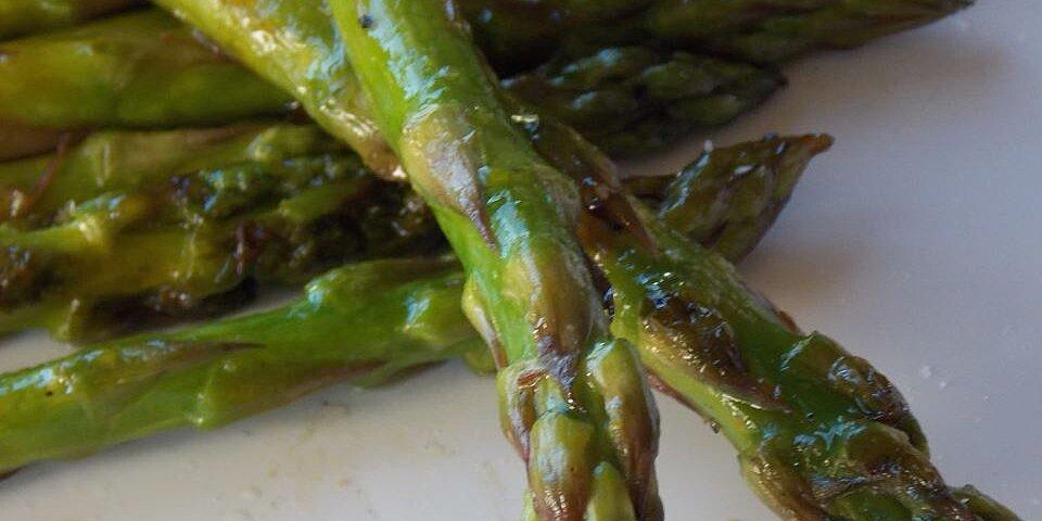 yummy grilled asparagus recipe