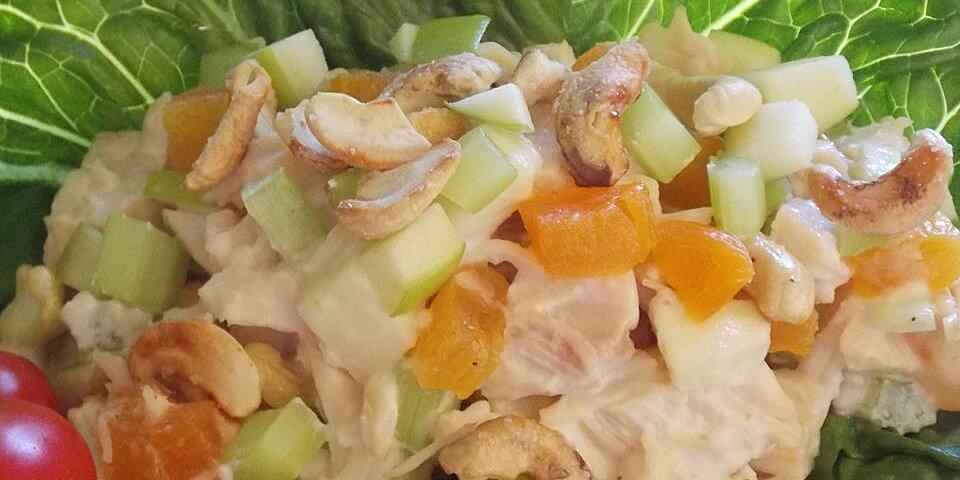 gingery apricot turkey salad recipe