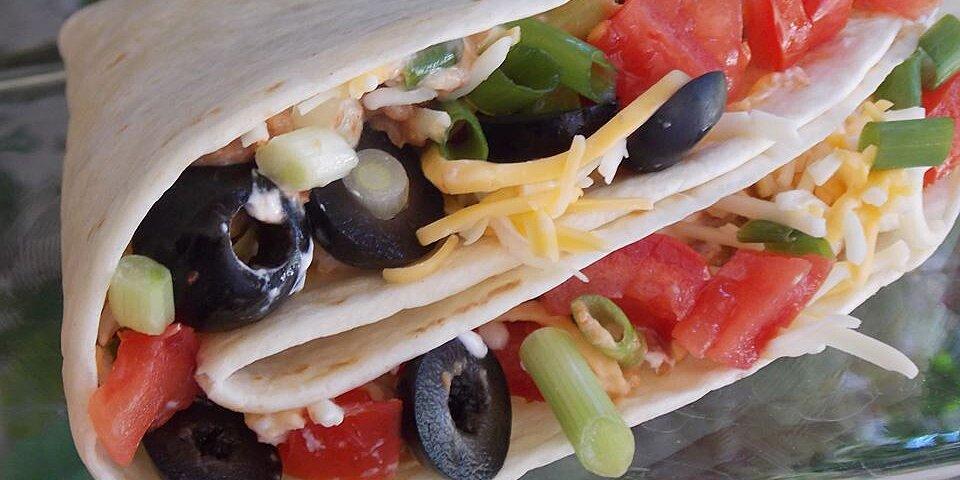 kid friendly taco burritos recipe