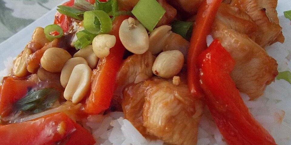 thai orange chicken recipe