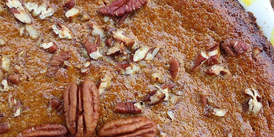 pecan pumpkin pie ii recipe