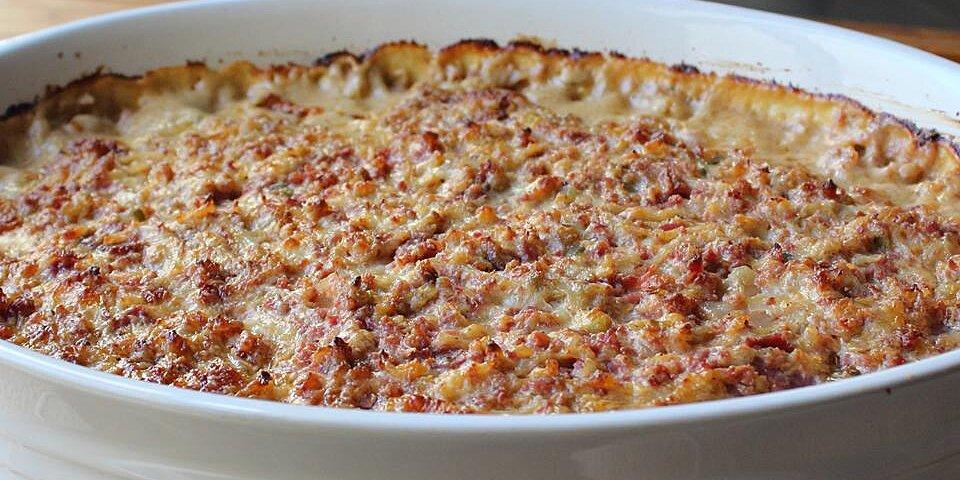 hot baked reuben dip