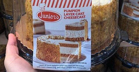 Pumpkin Cake and Cheesecake Had a Baby And You Can Get It at Costco
