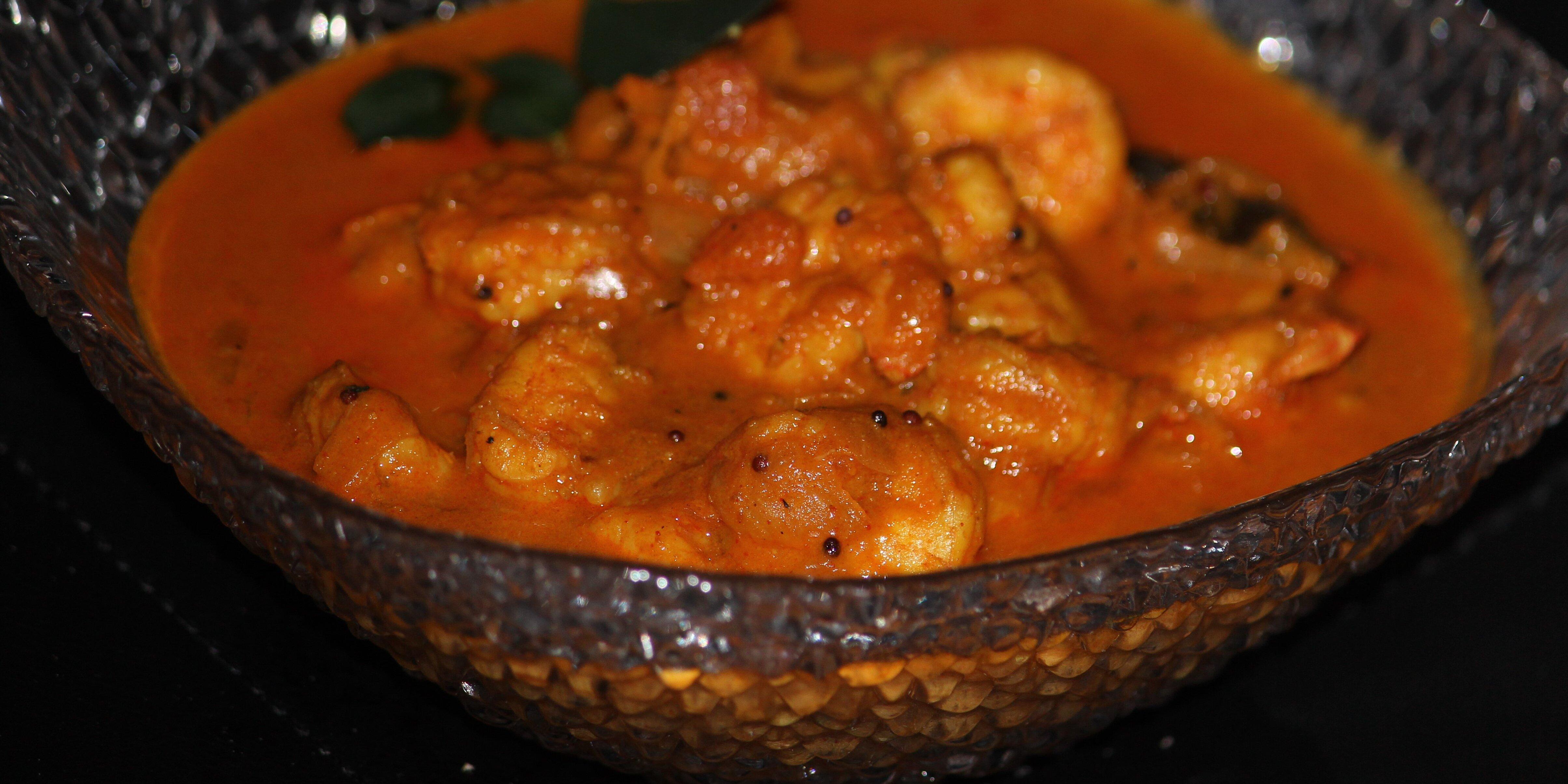 instant pot shrimp curry recipe