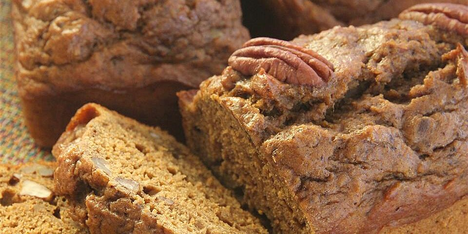 applesauce pumpkin spice bread recipe