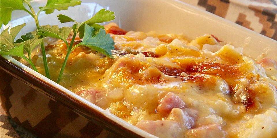 ham and scalloped potatoes recipe