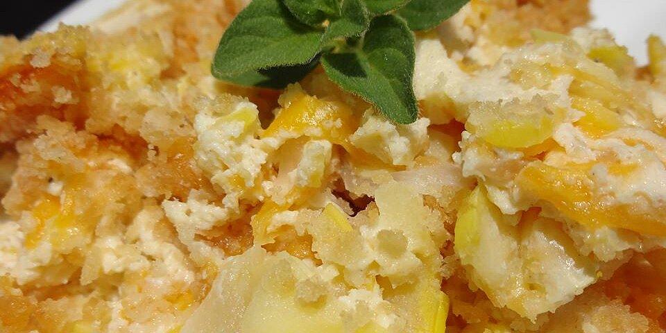 mamas summer squash casserole recipe