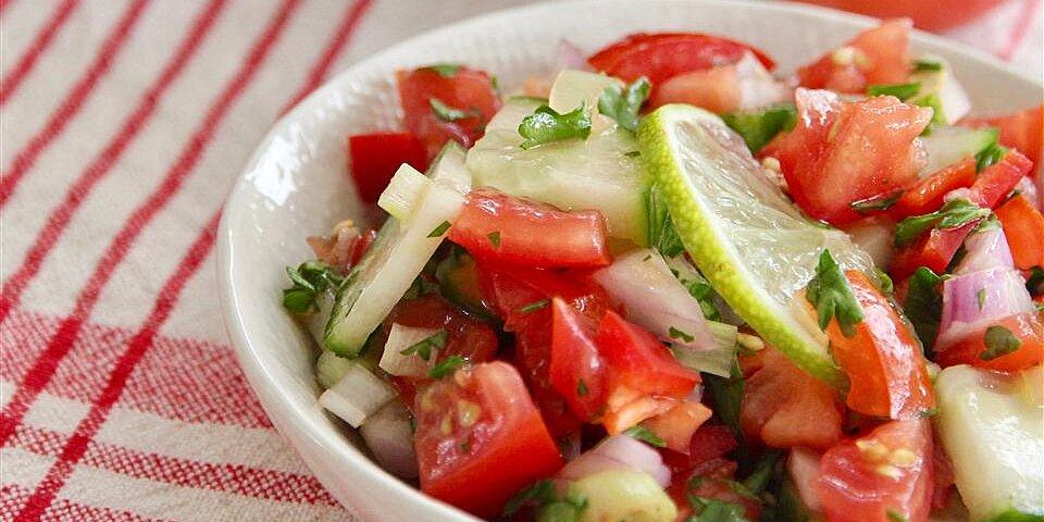 vinagrete brazilian tomato slaw recipe
