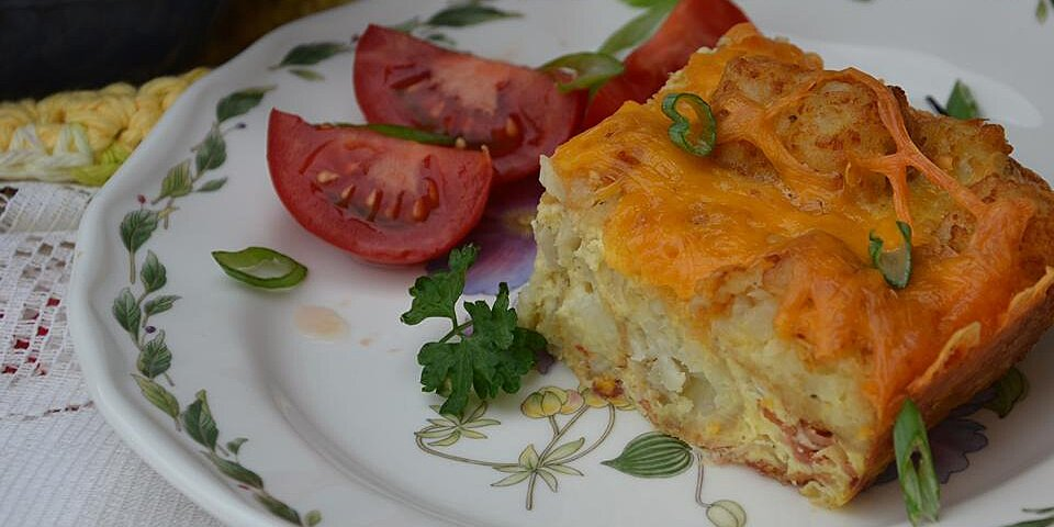 tater tot and bacon breakfast casserole recipe