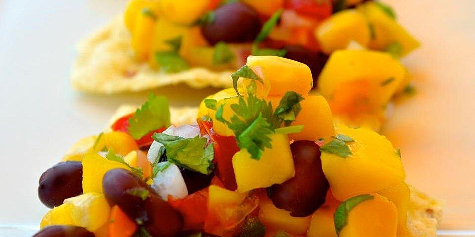 black bean mango salsa recipe