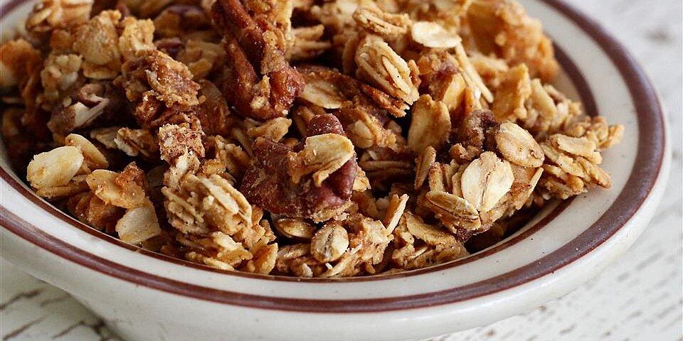 honey sweetened granola recipe