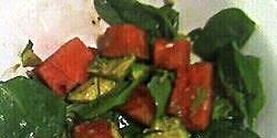 avocado watermelon spinach salad recipe