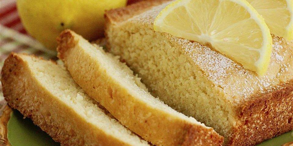 old fashioned lemon pound cake recipe