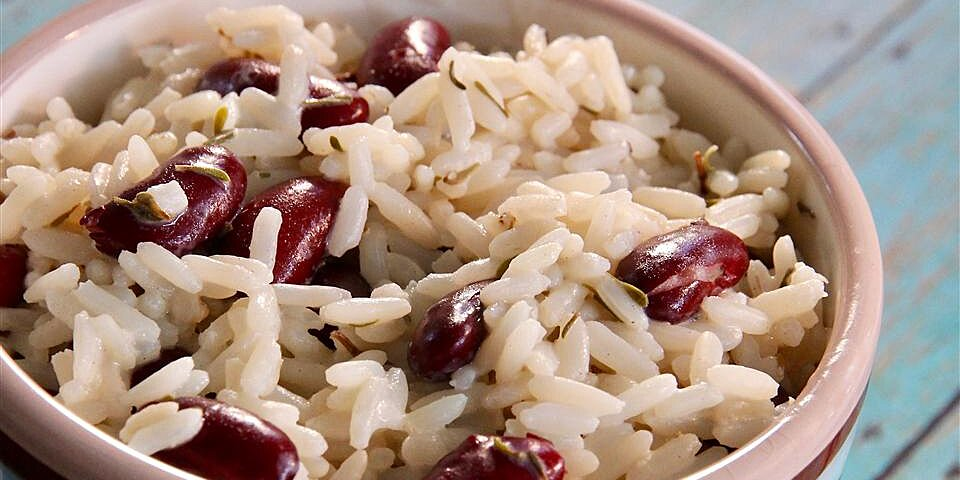 creole rice and kidney beans recipe