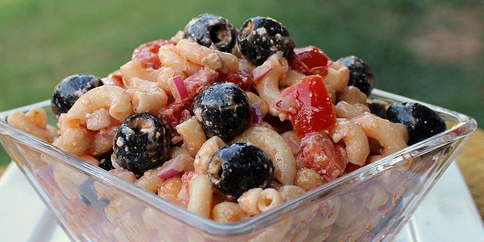 chickpea macaroni salad recipe