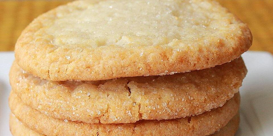 chewy sugar cookies recipe
