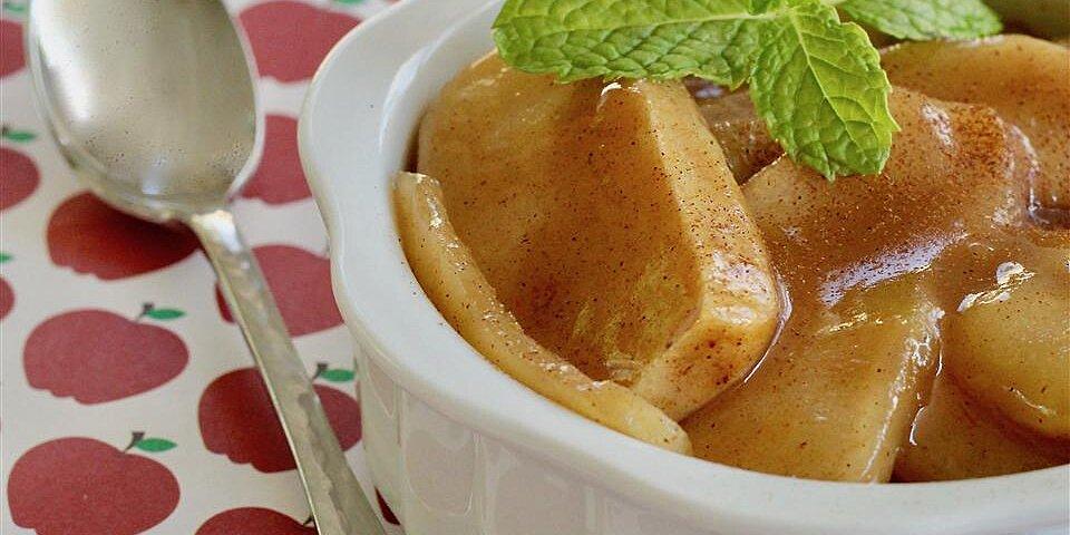 baked cinnamon apples recipe