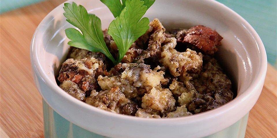 white cheddar savory bread pudding recipe