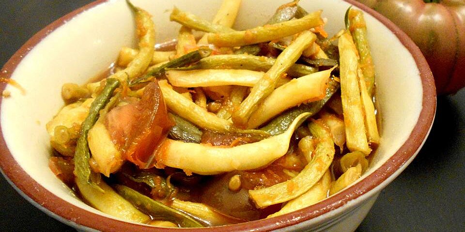 honey orange green beans recipe