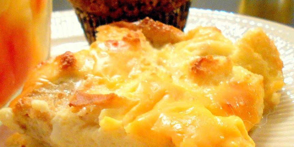 christmas morning egg casserole recipe