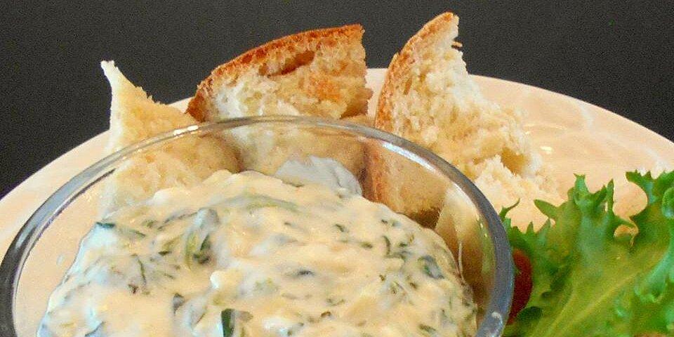 artichoke spinach dip restaurant style recipe