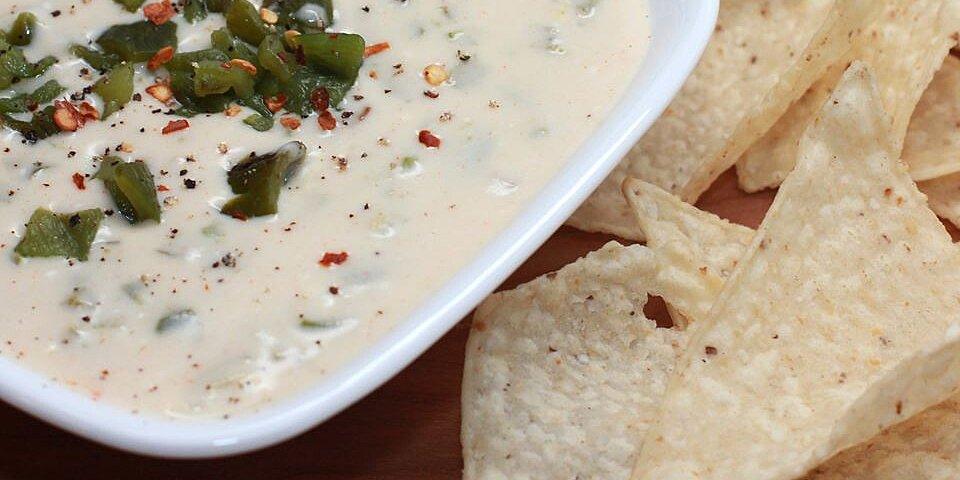 grilled poblano queso dip recipe
