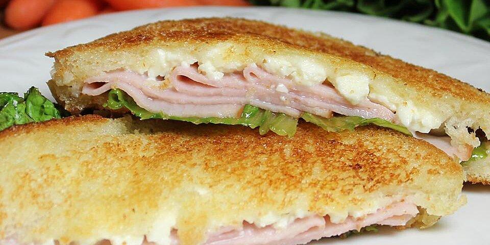 turkey and feta grilled sandwich recipe