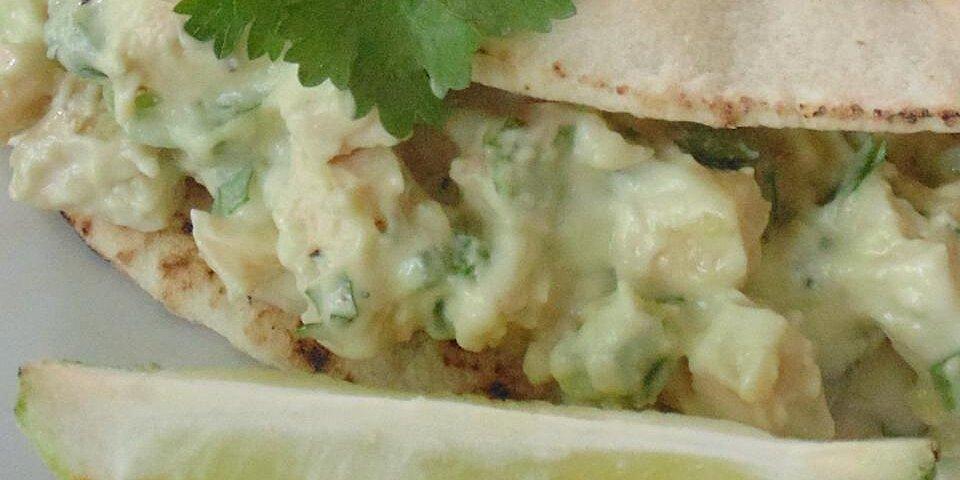 quick avocado chicken salad recipe