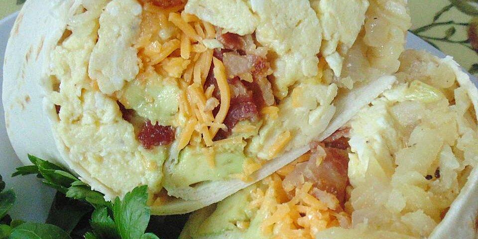 flannerys bacon avocado burritos recipe