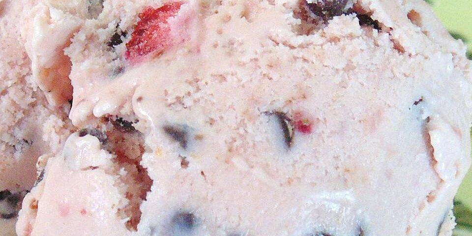 strawberry chocolate chip ice cream recipe