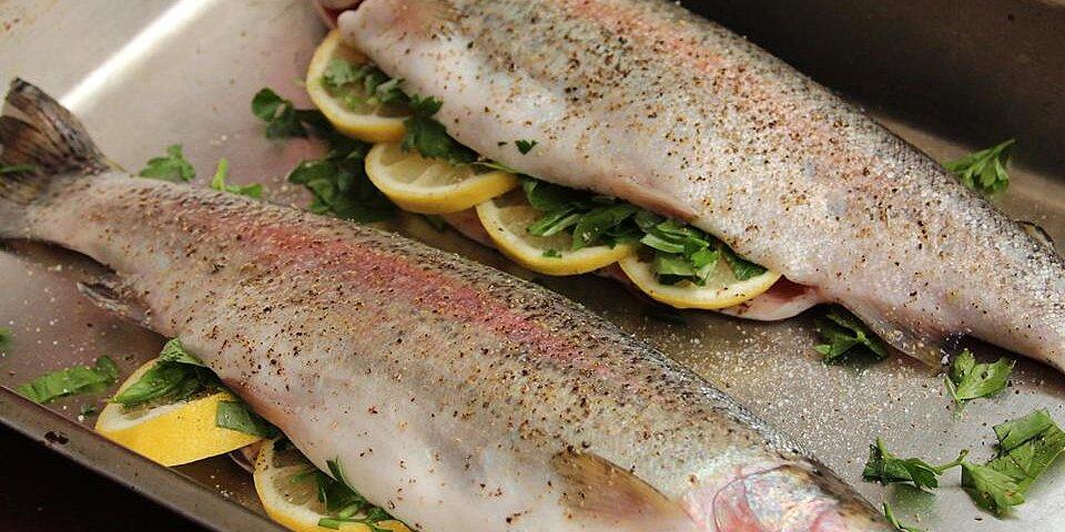 baked fresh rainbow trout recipe
