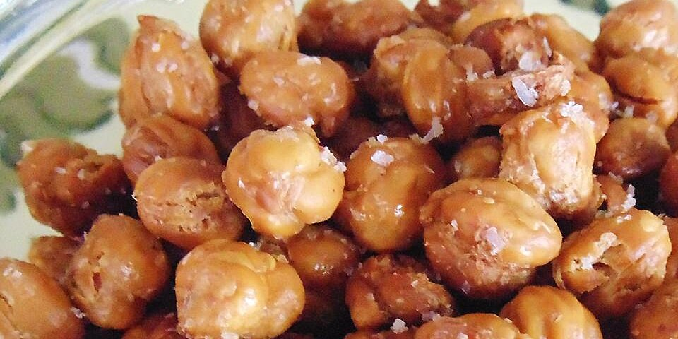 easy roasted chickpeas recipe